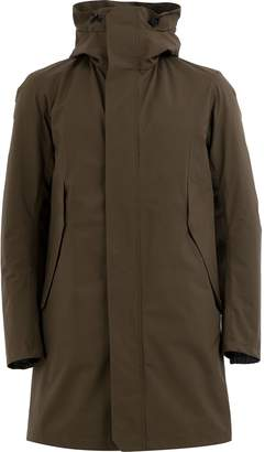 Herno padded mid-length raincoat