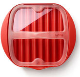 Lekue NEW Microwave Bacon Cooker Red