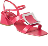 Roger Vivier Bikiviv Leather Sandal