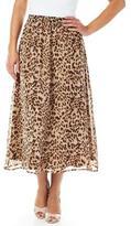 Tradition Women's Print Georgette Skirt