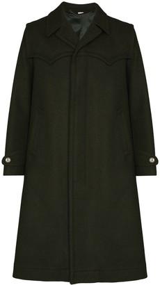 Gucci Single-Breasted Overcoat