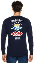 Rip Curl The Early Search Heritage Ls Tee