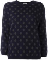 Societe Anonyme polka dot pullover - women - Cashmere/Merino - 40