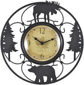 Asstd National Brand FirsTime Wildlife Wire Wall Clock