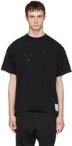 Satisfy Black Moth Eaten T-shirt
