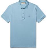 Burberry Slim-Fit Cotton-Piqué Polo Shirt