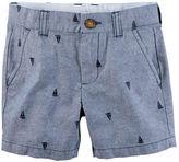 Carter's Schiffli Embroidered Twill Shorts
