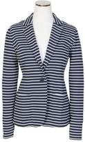 Nautica Striped Jersey Blazer
