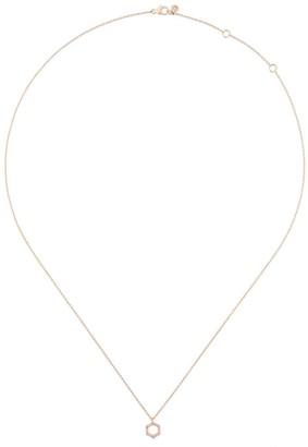 Astley Clarke Honeycomb diamond pendant necklace