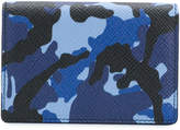 Smythson camouflage wallet
