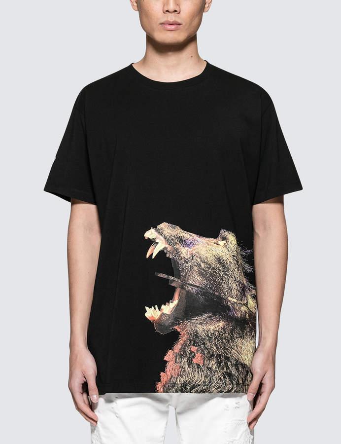 Marcelo Burlon County of Milan Monkey Side T-Shirt