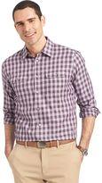 Van Heusen Big & Tall Classic-Fit Plaid Button-Down Shirt