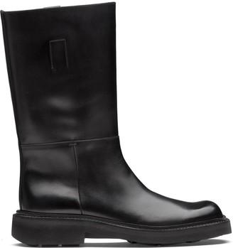 Prada Calf-Length Boots