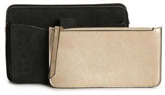 Violet Ray Interior Pouch Clutch