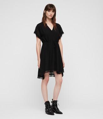AllSaints Keira Shimmer Dress