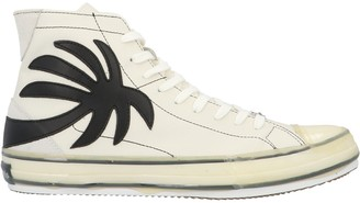 Palm Angels High-Top Vulcanized Sneakers