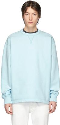 Acne Studios Blue Finn Sweatshirt