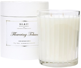 D.L. & Co. Frosted Stripe Flowering Tobacco Candle (18 OZ)