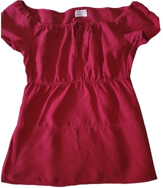 Max & Co. Burgundy Linen Top for Women