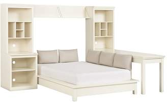 Pottery Barn Teen Stuff-Your-Stuff Platform Bed Super Set (Bed, Towers, Shelves + Desk)