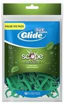 Oral-B Complete Glide Floss Picks Long Lasting Mint