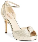 Menbur 'Aguilera' Platform Peep Toe Sandal (Women)