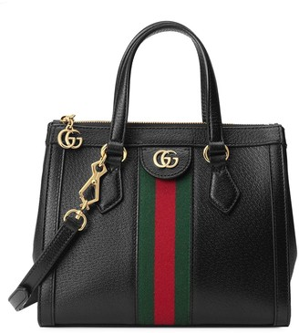 Gucci stripe detail tote bag