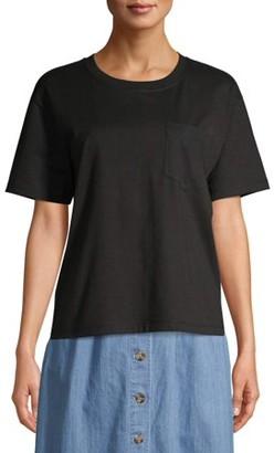 Time and Tru Women's Boyfriend T-Shirt