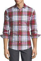 Original Penguin Oxford Plaid Button-Down Sport Shirt