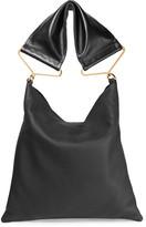 Marni Maxi Strap Textured-leather Tote