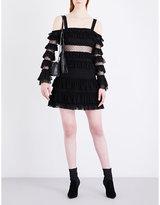 Alexis Brandi mesh dress