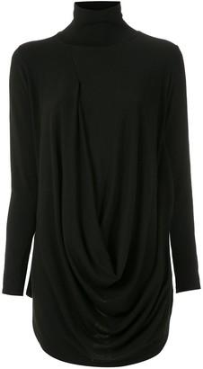 Church's draped blouse
