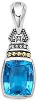 Lagos Women's 'Caviar Color' Semiprecious Stone Clip Pendant