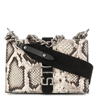 Just Cavalli Snakeskin Shoulder Bag