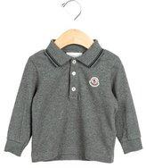 Moncler Boys' Long Sleeve Collared Shirt