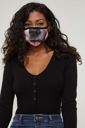 Ardene Dog Face Reusable Face Covering