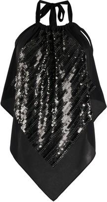 Dorothee Schumacher Fantastic Shimmer sequinned silk top