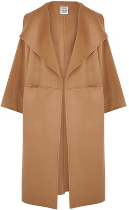 Totême Annecy Camel Wool And Cashmere-blend Coat