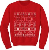 TeeStars - Brother Ugly Christmas Sweater Funny Toddler/Kids Sweatshirts