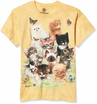 The Mountain 10 Kittens Adult Woman's T-Shirt
