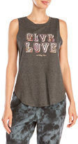 Betsey Johnson Give Love Muscle Tank