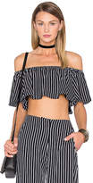 House Of Harlow x REVOLVE Bree Crop in Black & White