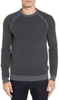 Ted Baker Men's Cashoo Slim Fit Ribbed Sweatshirt
