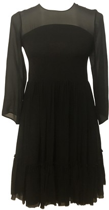 Charles Anastase Black Silk Dress for Women
