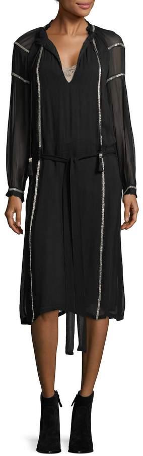 Antik Batik Women's Maroco Metallic Mesh Dress