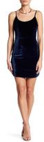 NBD &Brooke& Velvet Minidress