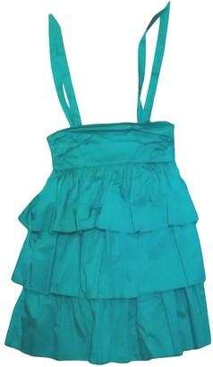 JC de CASTELBAJAC Green Cotton Dresses