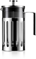 Leduole Shock Proof Glass Coffee Maker, Cafetiere Stainless Steel French Press, 1-2 Cups/