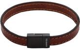 Ted Baker Leather Stitch Clasp Bracelet