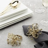 Crate & Barrel Glimmer Napkin Ring